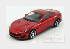 Ferrari Portofino Cabriolet Closed 2017 Red Met BURAGO 1:43 BU36051