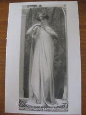 CPA nu féminin tableau Salon peinture 1906 Flandrin - L'agrafe
