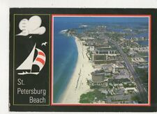 St Petersburg Beach Florida 1991 Postcard USA 647a
