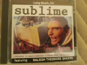 Sublime Robbin' the Hood CD 1994 Skunk Records