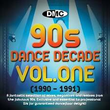DMC Dance Decade Vol 1 1990 - 1991 Hits of the Nineties Mixes DJ CD Megamixes