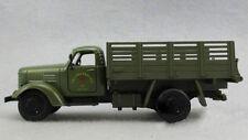 Diecast Military Vehicles Jiefang CA10 Green Transport Truck 1:32 W/Sound&Light