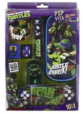 Kit Accessori TURTLES ULTIMATE 16 in 1 per PSP VITA PSP TARTARUGHE NINJA