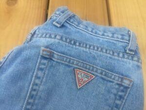 Vintage Guess Jeans Original Fit Blue Women's 29 Classic Denim