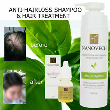NANOVECH Shampoo hair loss Treatment  5 oz. Herbal Natural  hair regrowth Unisex