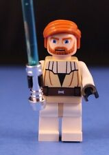 LEGO® brick STAR WARS™ 7676 Obi Wan Kenobi™ Minifigure + Trans-Blue Lightsaber