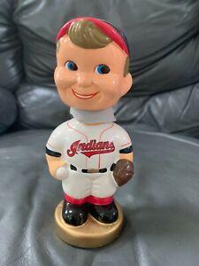 Cleveland Indians 'Generic Boy Face' Bobble Head NIB