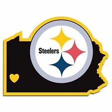 NFL Pittsburgh Steelers Home State Auto Car Window Vinyl Decal Sticker