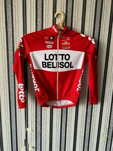 VERMARC LOTTO SOUDAL RIDLEY CYCLING jaket  VINTAGE size 8 boys long sleeve