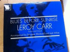 LP VINYL 1962 Leroy Carr Blues Before Sunrise Columbia/CBS  1799 PIANO & VOCAL