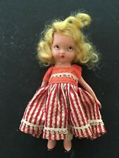 Vintage Bisque 1940s Nasb Nancy Ann Story Book Doll One-Two Button My Shoe #123
