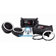 ROCKFORD FOSGATE T1T-S POWER COMPONENT 75W RMS DOME TWEETERS & CROSSOVERS NEW
