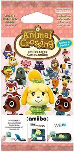 Nintendo Animal Crossing amiibo Cards Pack Series 4 SEASON FOUR - New Gift Idea