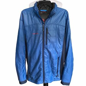 Mammut Polartec Pertex Quantum Polartec alpha Jacket Full Zip Men Size XL Light