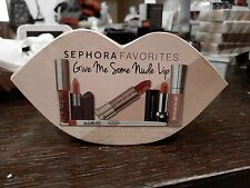 SEPHORA Set GIVE ME SOME NUDE LIP Bite UD Marc Jacobs Buxom Too Faced Estee BNIB