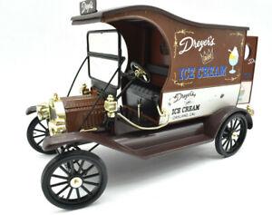 Miniature voiture Ford Model T Dreyer's Delivery Camion auto 1/18 diecast Van