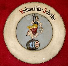 Schießscheibe,um 1930,Schützenverein,München,Schützenliesl,Weihnachtsscheibe