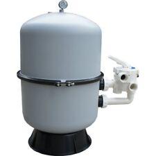 Sandfilter - Filterkessel 400 mm 2-teilig mit seitlichem 6-Wegeventil Poolfilter