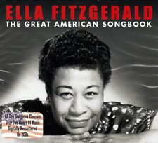 ELLA FITZGERALD - THE GREAT AMERICAN SONGBOOK (NEW SEALED 2CD)