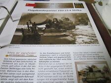 Archiv Militärfahrzeuge Artillerie Russland 33.1 ZSU 23-4 Shilka Falkpanzer