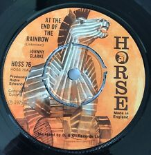 Johnny Clarke At the  end  of the Rainbow Horse 1975 Top Copy !!