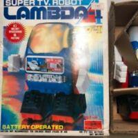 HORIKAWA VINTAGE JP TOY Super TV robot  Lambda I RETRO RARE CLASSIC 1990