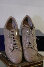 Christian Dior Sneaker braun aus Leder Gr. 38  272/33