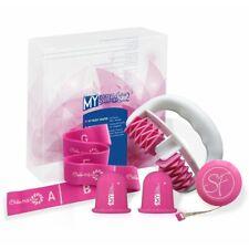 set anti cellulite appareil de massage + ventouse + bande elastique  L67