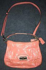 COACH Kristin ROSE Pink Patent Leather Handbag Shoulder Crossbody L1176-19300
