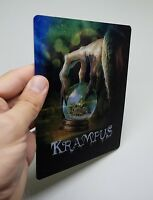 Krampus Lenticular Magnet cover Flip effect for Steelbook
