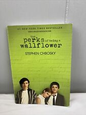The Perks of Being a Wallflower by Stephen Chbosky Paperback Very Good Condition