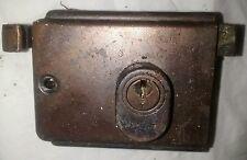 Vintage porte serrure Banham avec 3 clés