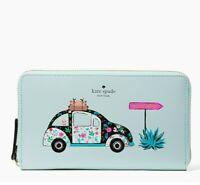 Kate Spade Out Of Office Kaden Horizons XL Wallet Clutch New NWT WLRU4926 $229