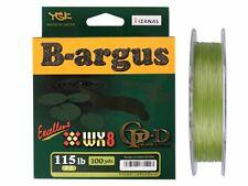 YGK NASULY B-argus excrllent PE WX8 GP-D 100yds Uguis Green 115lb #8 SNAKE HEAD