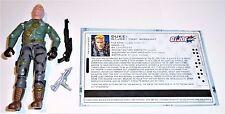 G.I. JOE ACTION FIGURE 2005 Heavy Assault Squad      Duke V22