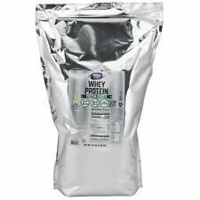 NOW Foods 100% Natural Vanilla Whey Protein 10lb Bag FRESH/NEW