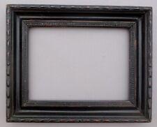 Kleiner Rahmen, schwarz 19 Jhd., geschnitzt