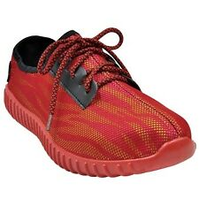 Tanggo Nicco Fashion Sneakers Rubber Shoes for Men (red)
