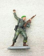 NEW Vintage BRITAINS DEETAIL Marine Commandos on Metal Base #7340c