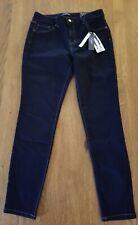 New D. Jeans High Waist Skinny Stretch Dark Wash Denim Jeans Women's Size 10
