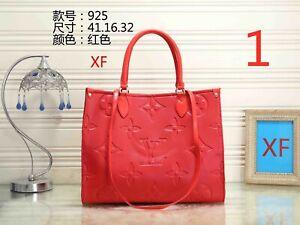 Authentic Louis Vuitton Vernis Wilshire PM Hand Bag Red LV