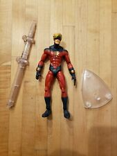 Captain Marvel Mar-Vell Base & Stand ToyBiz Marvel Legends MODOK BAF Series