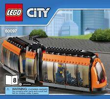 LEGO City Tram & Driver Minifigure Train Interest Can Be Motorized!