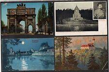 ALLEMAGNE - BAVIERE / 1910-14 LOT DE 15 CARTES POSTALES / 8 IMAGES (ref 4542)
