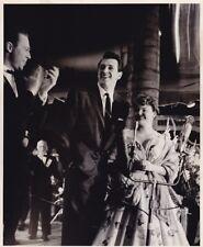ROCK HUDSON & Wife Original CANDID Hollywood Premiere Vintage 1950s Press Photo