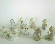 Precious Moments Ornaments Lot of 10 ~Rugged Cross~Joyful Noise~Love One Another