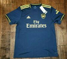 New Adidas Arsenal Third Jersey 19/20 Navy Yellow Mens Size Medium Authentic $90