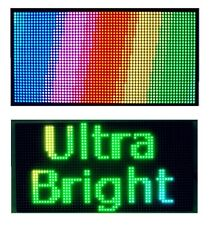 "25""x 12"" Full Color Semi Outdoor LED Sign Programmable Scrolling Message Board"