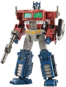 ThreeZero Transformers War for Cybertron Optimus Prime Dlx Diecast Figure