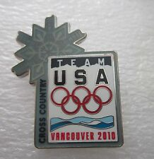 2010 VANCOUVER Olympics USA CROSS COUNTRY NOC TEAM  pin badge